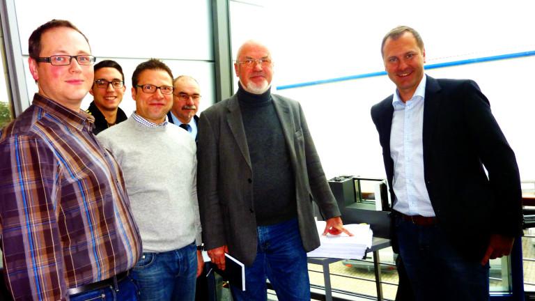 Besuch bei der Firma Oberland